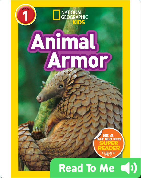National Geographic Readers: Animal Armor (L1)