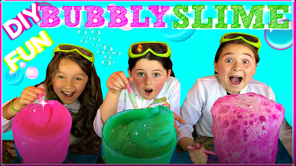How To Make FUN BUBBLING SLIME!
