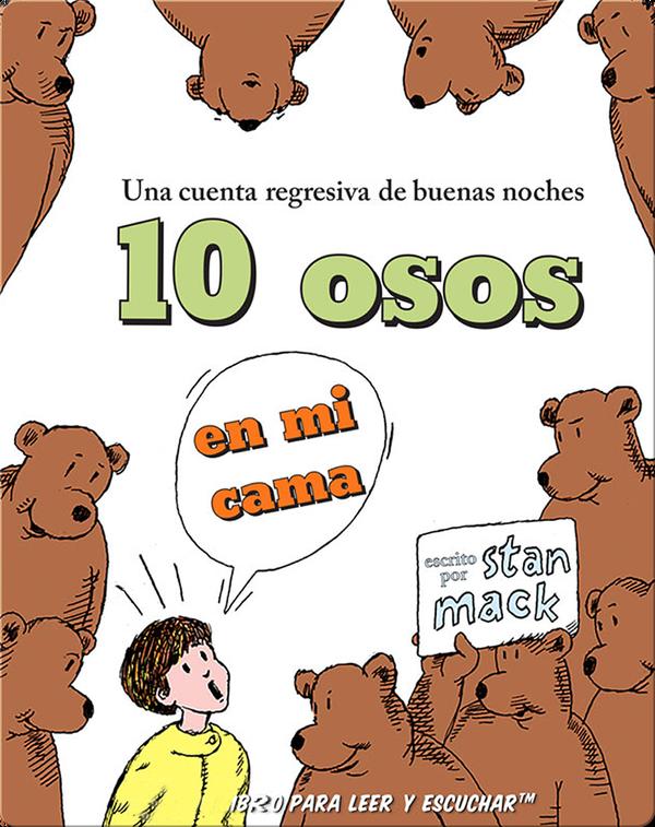10 osos en mi cama