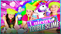How to Make Edible Unicorn Slime Candy!