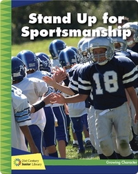 Stand Up for Sportsmanship