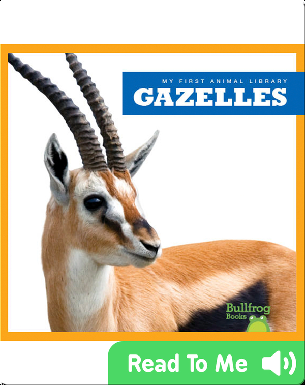 My First Animal Library: Gazelles