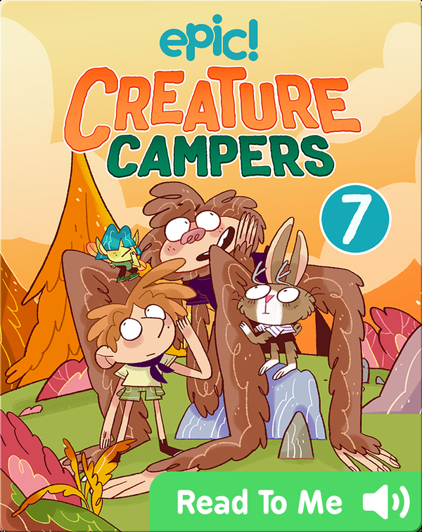 Creature Campers Book 7: The Wall of Doom