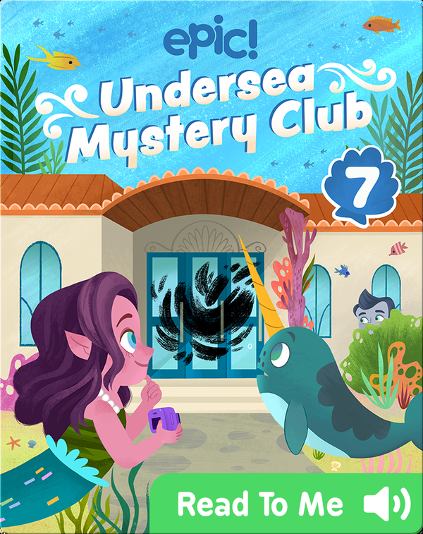 Undersea Mystery Club Book 7: The Puzzling Paintings