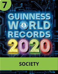 Guinness World Records 2020: Society