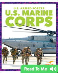 U.S. Armed Forces: U.S. Marine Corps