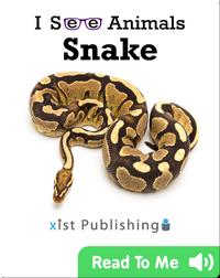 I See Animals: Snake