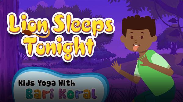 Yogapalooza: Lion Sleeps Tonight