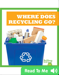 Where Does It Go?: Where Does Recycling Go?