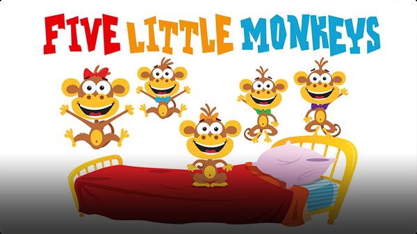 Super Simple Songs: Five Little Monkeys