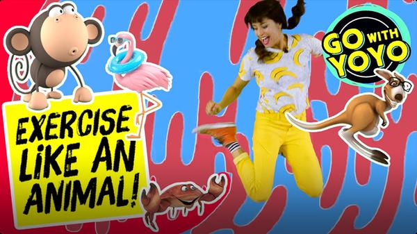 GO With YOYO: Exercise Like an Animal!