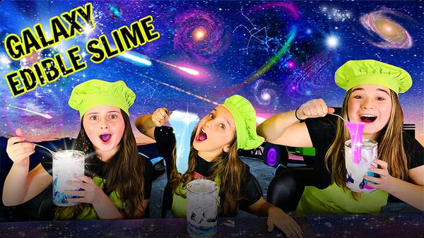 Make Edible Galaxy Slime!