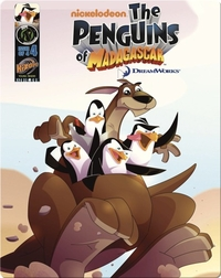 Penguins of Madagascar: Wonder from Down Under Issue 4