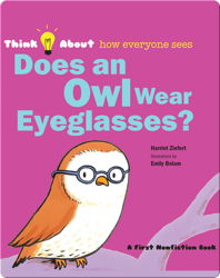 Does An Owl Wear Eyeglasses?