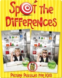 Spot the Differences: Picture Puzzles for Kids