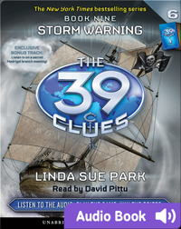 The 39 Clues Book #9: Storm Warning