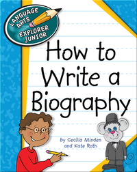 How to Write a Biography