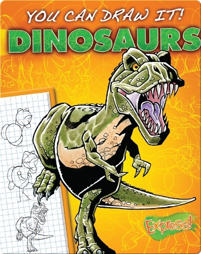 You Can Draw It! Dinosaurs