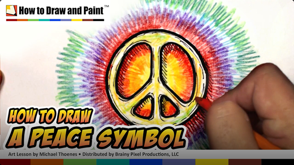 How to Draw a Peace Symbol