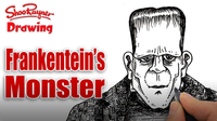 How to Draw Frankenstein's Monster