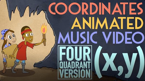 Coordinates - 4 Quadrants