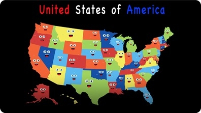 50 States and Capitals for Children