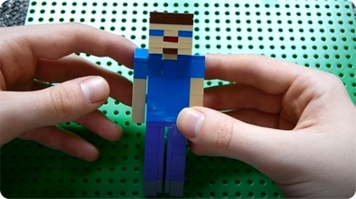 How to Build: Lego Minecraft Steve
