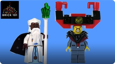 How To Build LEGO Lord Business & Vitruvius from The Lego Movie