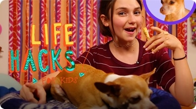 More Dog Hacks | LIFE HACKS FOR KIDS
