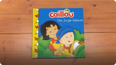 Caillou: The Jungle Explorer