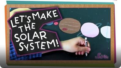 SciShow Kids: Make Your Own Solar System!