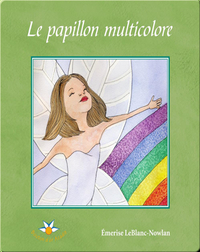 Le papillon multicolore