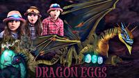 Dragon Eggs That SPARKLE | How To Make DRAGON EGGS! | Kids Fun Activities