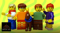 How To Build LEGO Scooby Gang Minifigs