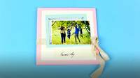 DIY Family Scrapbook