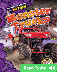 Mighty Machines in Action: Monster Trucks