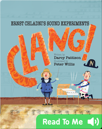 Clang! Ernst Chladni's Sound Figures