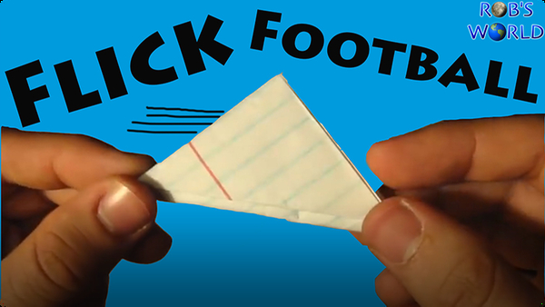 How to Make a Paper Flick Football