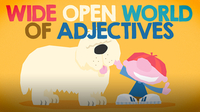 Wide Open World of Adjectives