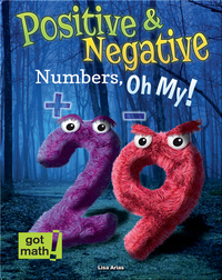 Positive and Negative Numbers, Oh My!
