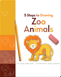 5 Steps to Drawing Zoo Animals