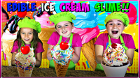 How To Make Edible ICE CREAM SLIME!