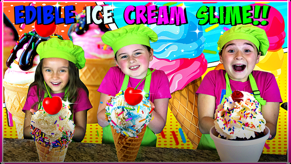 How To Make Edible ICE CREAM SLIME!