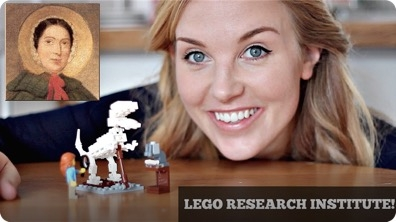Mary Anning - The Palaeontologist (Lego Research Institute!)