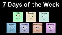 Seven Days of the Week