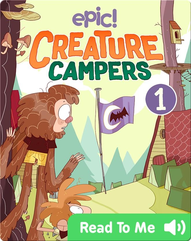 Creature Campers Book 1: The Secret of Shadow Lake