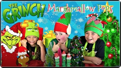 Yummy Holiday Treats | Marshmallow Pops
