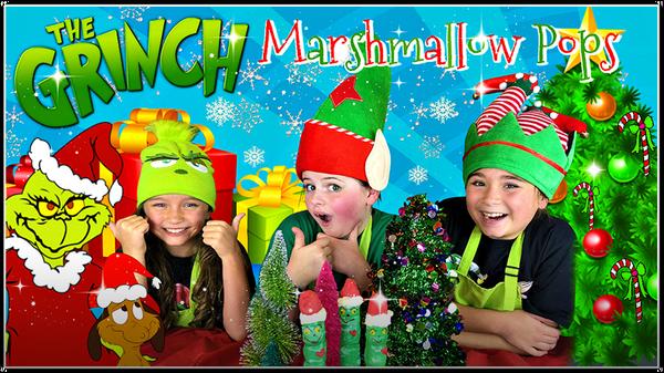 Yummy Holiday Treats | Marshmallow Pops