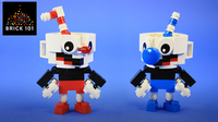 How To Build LEGO Cuphead & Mugman