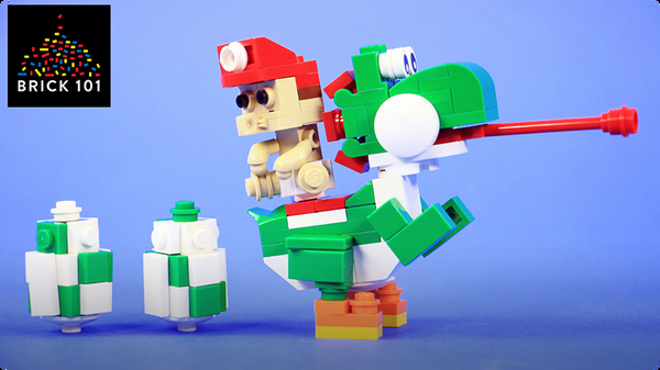 How To Build LEGO Yoshi